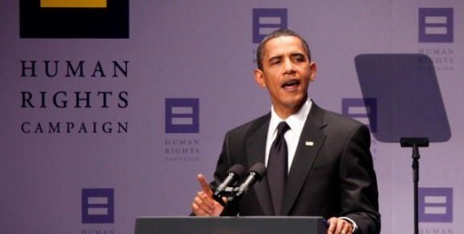 Obama Begins Full Court Press on Extremist Homosexual Agenda Within Minutes After Oath of Office
