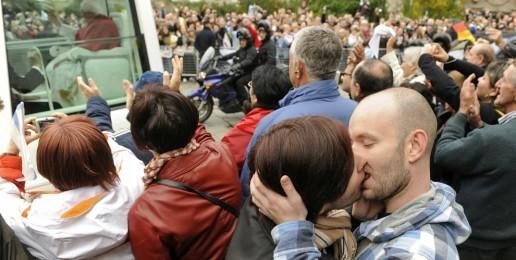 Homosexual Activists Disrespect Pope Benedict