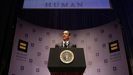 Pres. Obama's Address to Gay Activists