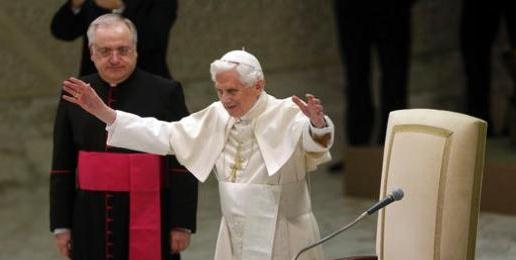 "Pope Benedict Denounces Gay ""Marriage"" During His Annual Christmas Message"