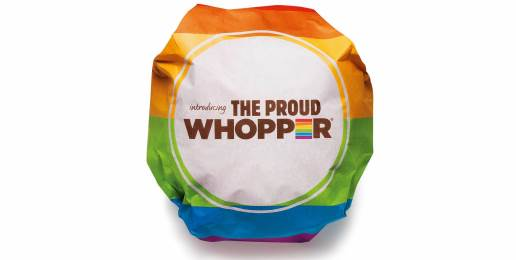 "Burger King Broils Family Values with New ""Proud Whopper"""