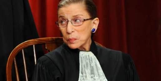 Ruth Bader Ginsburg Was Right … Sort of