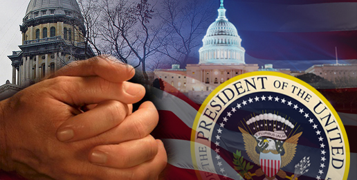 Prayers Needed for POTUS, Congress and General Assembly