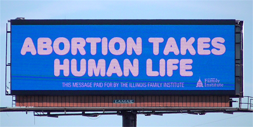 Pro-Life Message Reaches 50% of Cook County