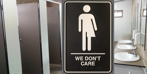 Men in Women's Bathrooms?