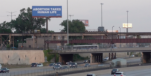 Pro-life Billboard Reaches the South Side of Chicago!
