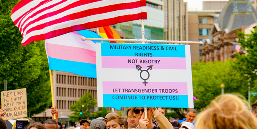 """Coalition Letter Urges Trump Administration to Resist Courts on """"Transgenders"""" in Military"""