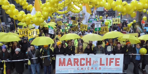 Thousands March for Life in Chicago