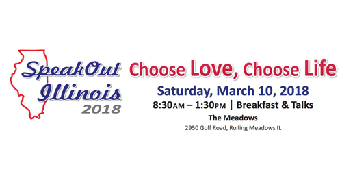 SpeakOut Illinois: An Invitation to Attend Our State's Premiere Pro-Life Conference