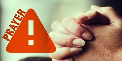 End-of-Session Prayer Alert