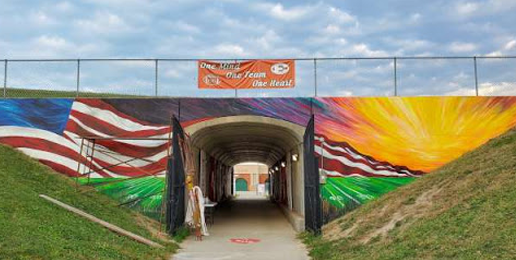 Effingham Removes Cross From Mural After Outside Pressure