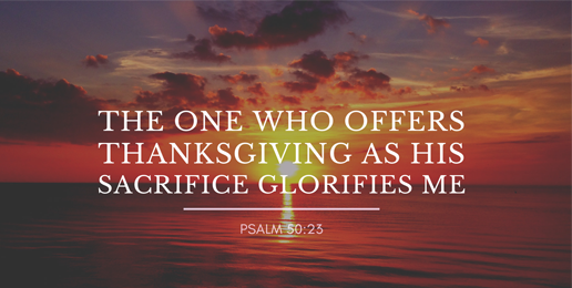 Giving Thanks in Everything!
