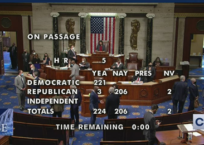 "U.S. House Passes ""In-Equality"" Act"