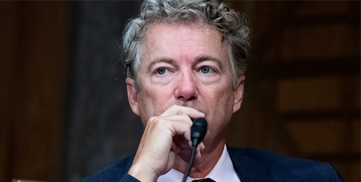 U.S. Senator Rand Paul Confronts Biden's Cross-Dressing Pick for Assistant Health Secretary
